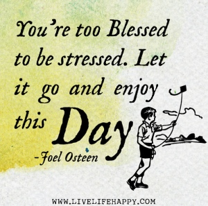 love life quote about stress