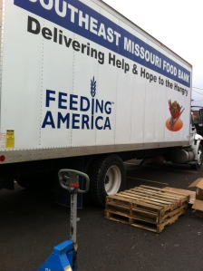 Our Food Bank Truck