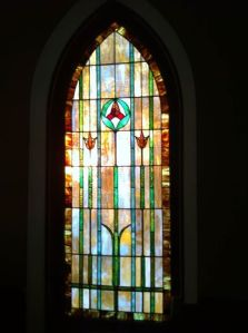 Sanctuary Window at Centering Prayer 3_3_14